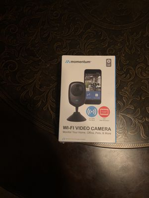 WiFi video camera for monitoring whatever for Sale in Tupelo, MS