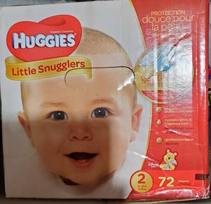HUGGIES 72 Diapers # 2 for Sale in Lynn, MA