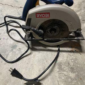 Ryobi 7 1/4 Circular Saw for Sale in Virginia Beach, VA