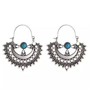 Silver Boho and Turqs Earrings for Sale in Woodbridge, VA