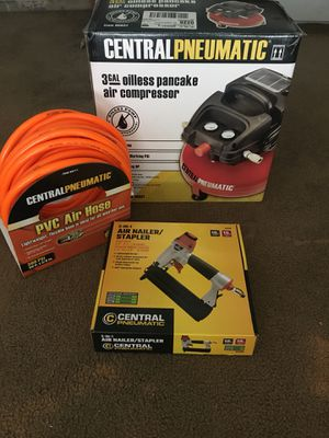 Nail Gun with Compressor and Extras for Sale in Rancho Santa Fe, CA