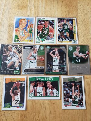 Larry Bird Boston Celtics NBA basketball cards for Sale in Gresham, OR