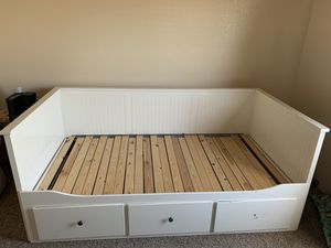Ikea white day bed twin for Sale in Victorville, CA
