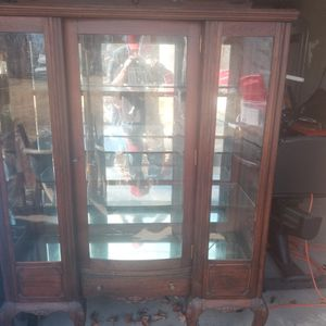 Antique Furniture With Glass Display for Sale in Rockville, MD