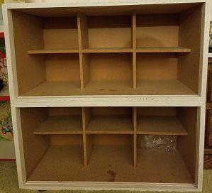 Cubbie Shelves