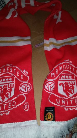 Manchester United scarf for Sale in San Marcos, CA