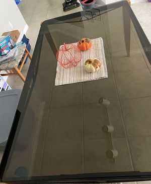 Glass kitchen table for sale for Sale in FL, US