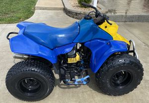 Suzuki lt80 four wheeler - kids atv / adult pitbike for Sale in Pevely, MO