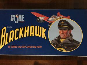 G.I. JOE featuring BLACKHAWK DELUXE SET (RARE) DC COMICS' MILITARY ADVENTURE HERO for Sale in Bell Gardens, CA