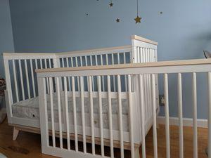 Babyletto Crib + Mattress+ Bumper for Sale in West New York, NJ