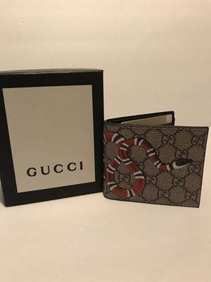 Gucci Wallet Snake for Sale in San Antonio, TX
