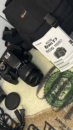 Canon Rebel T3 for Sale in Austin,  TX