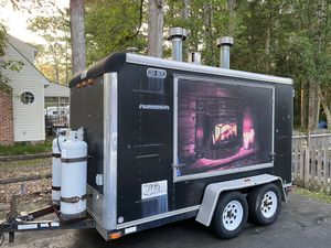 Heavy duty 6 x 12 Enclosed Trailer for Sale in Chester, VA