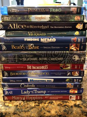Disney DVD Collection for Sale in Los Angeles, CA