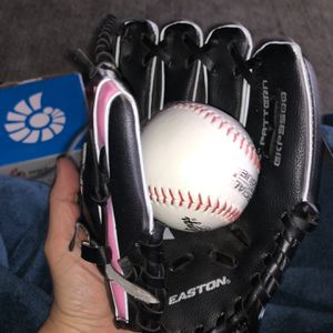 Girls' Softball Glove And Ball for Sale in San Diego, CA