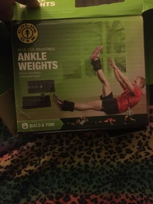 Golds Gym ankle weights for Sale in Jackson, MS