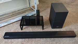 Samsung HW-Q6CR 5.1ch Soundbar & SWA-8500S Rear Speakers for Sale in Zephyrhills, FL