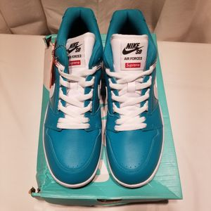 New Nike SB Air Force 2 Low Supreme Blue Size 10 for Sale in Taunton, MA