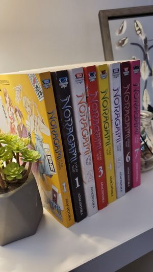 Noragami (Stray God) English Manga 1-7 +Stray Stories for Sale in East Haven, CT