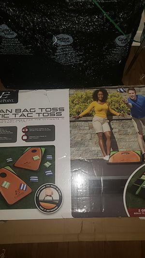 Bean Bag Toss & Tic Tac Toss for Sale in Atlanta, GA