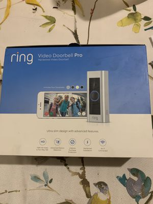 Ring doorbell pro for Sale in Queen Creek, AZ