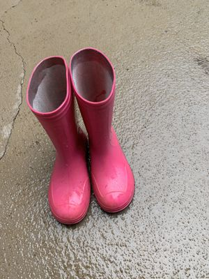 Rain boots size 13 for girls for Sale in Duluth, GA