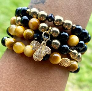 Gold & Black Bee bracelet set for Sale in Franklin Township, NJ