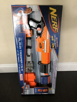 Nerf Elite Alpha Trooper CS-6 Dart Gun for Sale in Montclair, CA