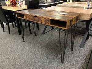 Elegant distressed brown finish desk for Sale in Irving, TX