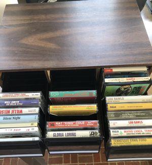 Cassette tape cabinet for Sale in Sunbury, PA
