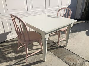 Kids table and chairs - Pottery Barn for Sale in Canyon Country, CA