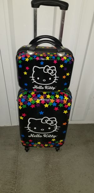 Hello kitty luggage for Sale in Silver Spring, MD