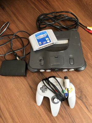 Nintendo 64 Console for Sale in Tempe, AZ