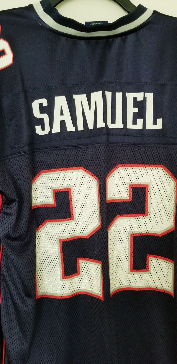 XL Asante Samuel Patriots Jersey in Very Good Condition!