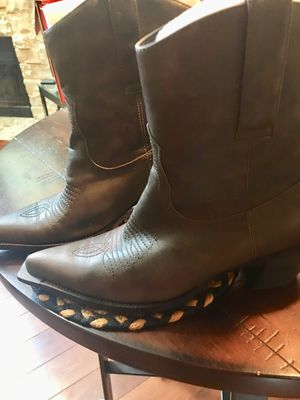 Grey Cow girl boots for Sale in Denver, CO