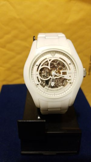DESIGNER ARMANI AUTOMATIC WATCH for Sale in Springfield, VA