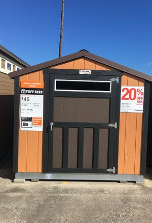 (577) Tuff Shed Storage Building SR600 8x12 was $2,856 Now $2,285 for Sale in Houston, TX