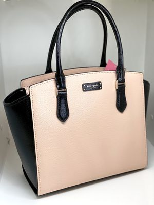 KATE SPADE NY🔥NWT🔥TWO-TONE LEATHER SATCHEL for Sale in Orlando, FL