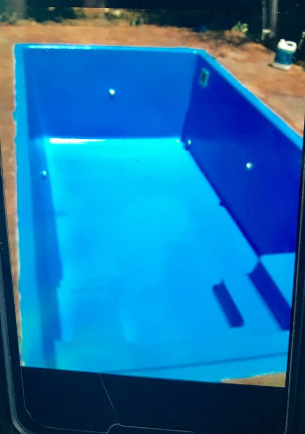 Inground swimming pool located 1.5 hrs south of San Antonio ready for pickup