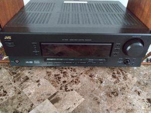 JVC 600 watt 5.1 Surround Sound Av Digital Audio Stereo Receiver radio for Sale in Detroit, MI