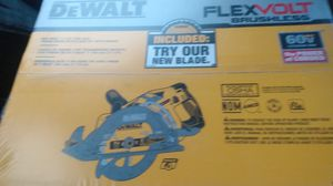 DeWalt worm drive 60V for Sale in Oklahoma City, OK