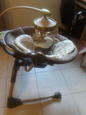 Ingenuity Cozy Coo Sway Seat Coco CafeBaby Swing for Sale in Boca Raton, FL
