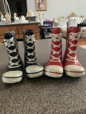 Boots boy or girls size 1-2 for Sale in Oroville, CA