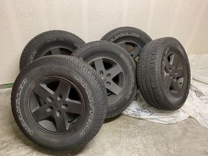 Wrangler wheels and tires for Sale in Chula Vista, CA