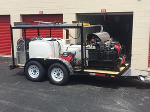 Pressure cleaning trailer for Sale in Monroe, LA