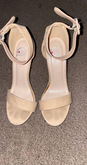 Beige heels for Sale in Tolleson, AZ