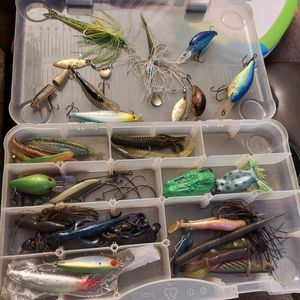 Fishing Tackle Box for Sale in Clayton, NC