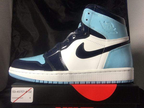 Nike Air Jordan 1 UNC size 8
