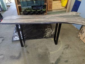 Natural edge wood table for Sale in Kent, WA