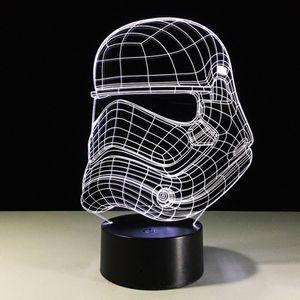 3D Night Light Stormtrooper Side 7 Color Change Table Lamp for Sale in Las Vegas, NV